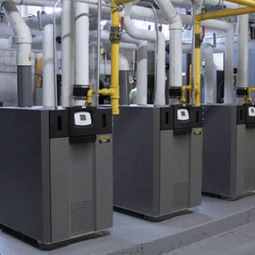 Three heating systems
